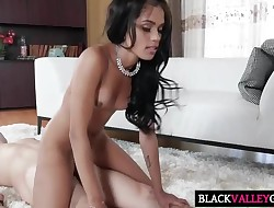 Super-cute Dark Cutie Tiffany Nunez Gets Ravaged